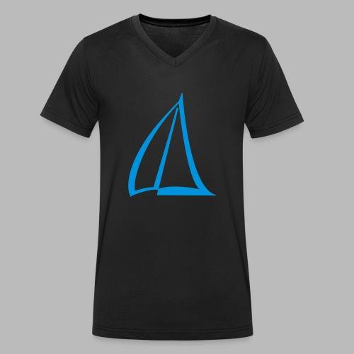 Segel Einfarbig Pictogram - Männer Bio-T-Shirt mit V-Ausschnitt von Stanley & Stella