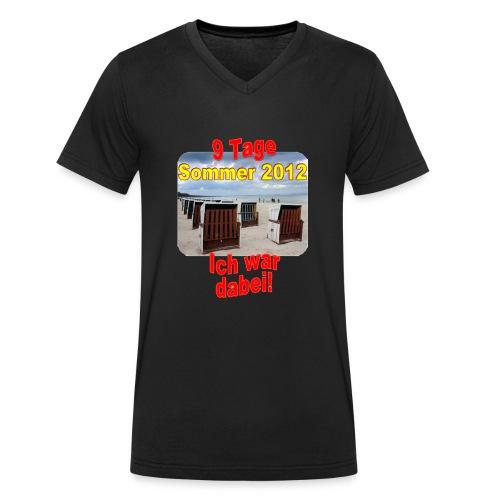 9 Tage Sommer 2012 - Ich war dabei! - Männer Bio-T-Shirt mit V-Ausschnitt von Stanley & Stella