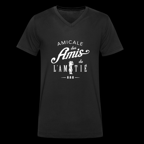 AAA8ter - T-shirt bio col V Stanley & Stella Homme