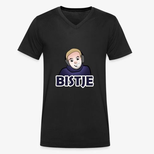 BISTJE Original - Mannen bio T-shirt met V-hals van Stanley & Stella
