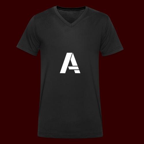 Aniimous Logo Merchandise - Mannen bio T-shirt met V-hals van Stanley & Stella