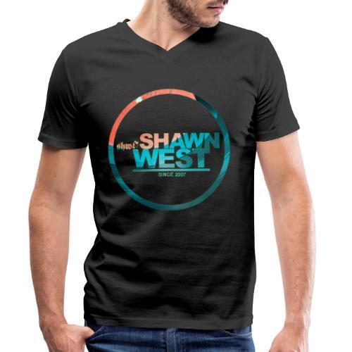 SHAWN WEST DISC JOKEY STYLE - Männer Bio-T-Shirt mit V-Ausschnitt von Stanley & Stella