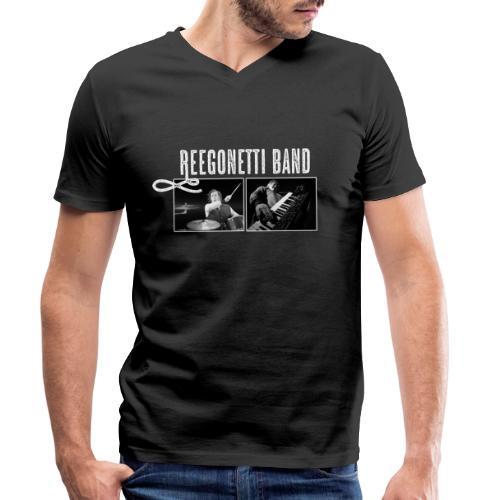 Reegonetti Band Live - Ekologisk T-shirt med V-ringning herr från Stanley & Stella