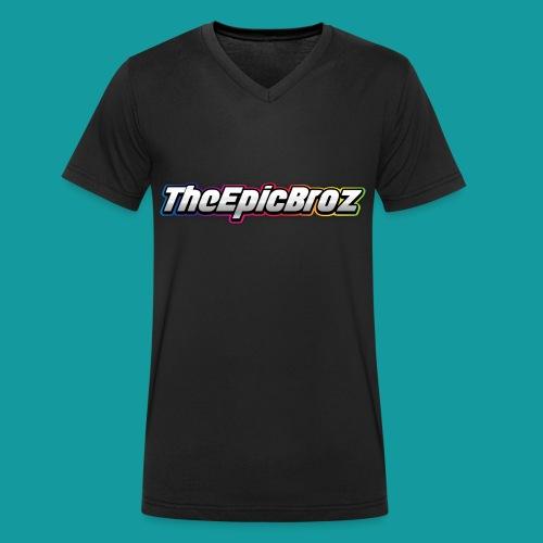 TheEpicBroz - Mannen bio T-shirt met V-hals van Stanley & Stella