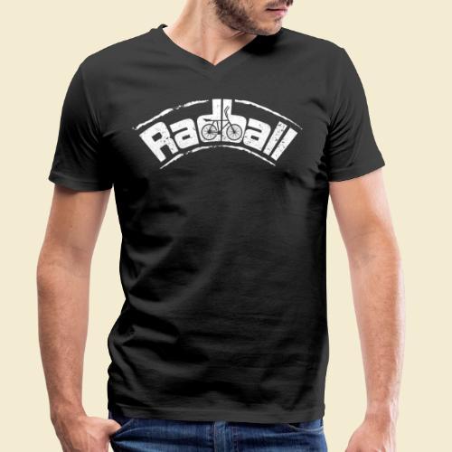 Radball | Radball - Männer Bio-T-Shirt mit V-Ausschnitt von Stanley & Stella