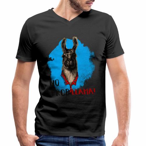 No probllama! - T-shirt ecologica da uomo con scollo a V di Stanley & Stella