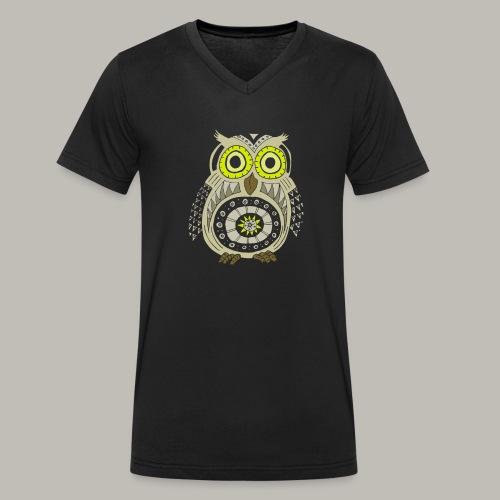 Ethnic Owly - T-shirt bio col V Stanley & Stella Homme