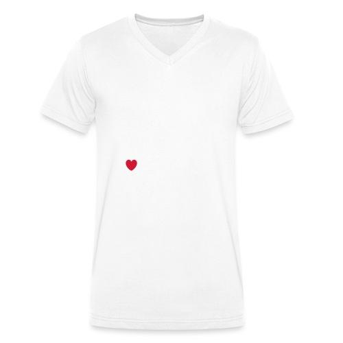 Famous Cat - Männer Bio-T-Shirt mit V-Ausschnitt von Stanley & Stella