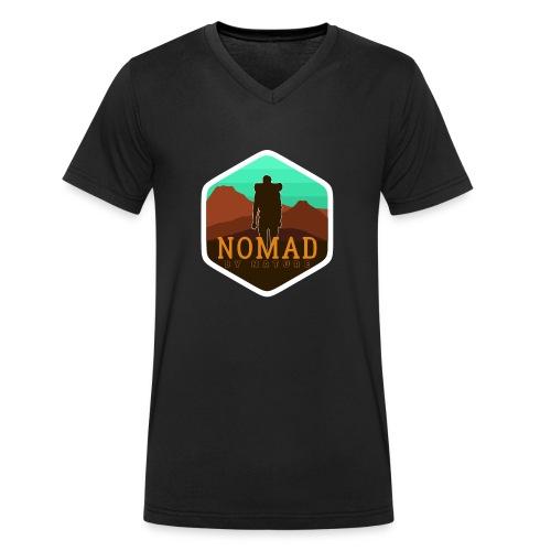 Nomad By Nature - Männer Bio-T-Shirt mit V-Ausschnitt von Stanley & Stella