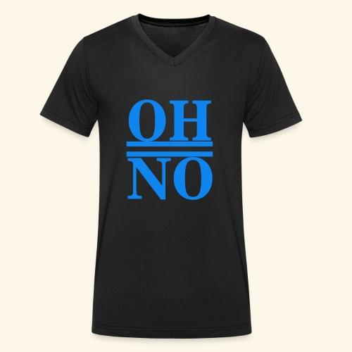 Oh no - T-shirt ecologica da uomo con scollo a V di Stanley & Stella