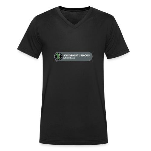 Achievement - Mannen bio T-shirt met V-hals van Stanley & Stella