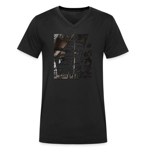 Eyes 2 - T-shirt ecologica da uomo con scollo a V di Stanley & Stella