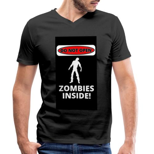 Zombies inside - T-shirt bio col V Stanley & Stella Homme