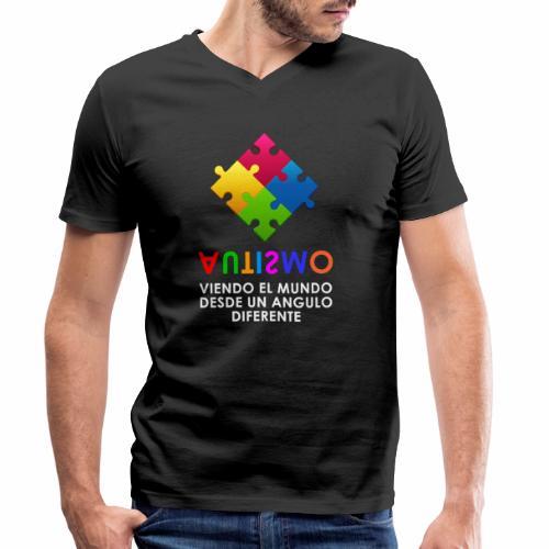 El Autismo según Yo soy Asperger - Camiseta ecológica hombre con cuello de pico de Stanley & Stella