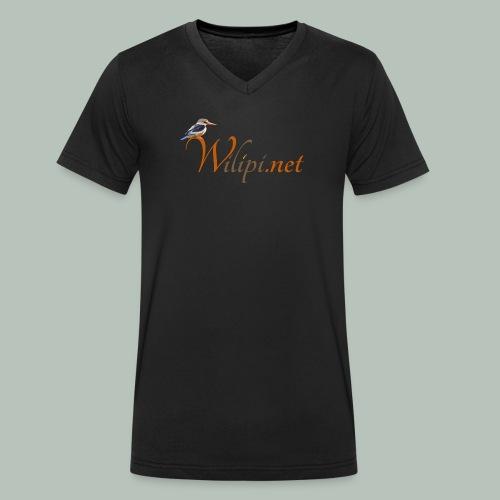 logo wilipi - T-shirt bio col V Stanley & Stella Homme