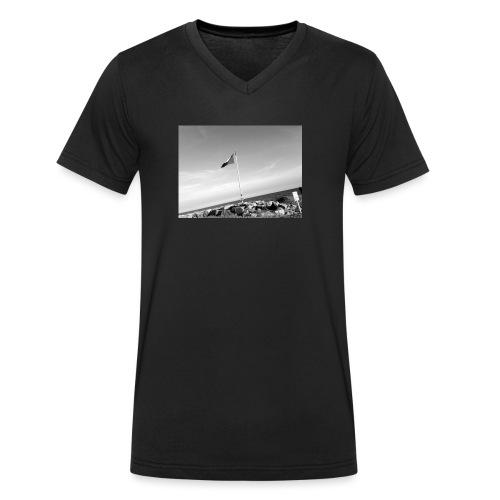 Beach feeling - Männer Bio-T-Shirt mit V-Ausschnitt von Stanley & Stella