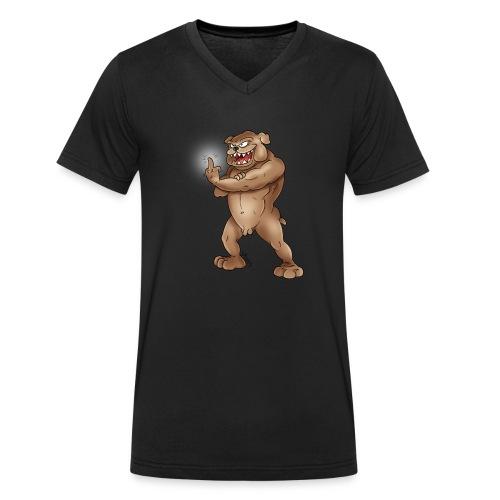 Bad Dog - Männer Bio-T-Shirt mit V-Ausschnitt von Stanley & Stella
