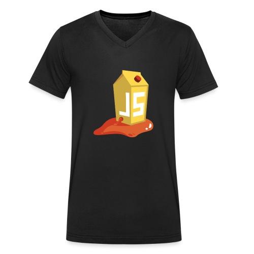 OWASP Juice Shop - Männer Bio-T-Shirt mit V-Ausschnitt von Stanley & Stella