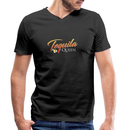 Tequila Queen - Men's Organic V-Neck T-Shirt by Stanley & Stella