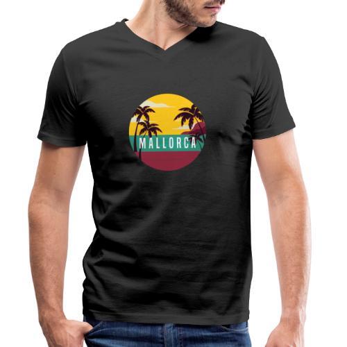 Mallorca - Männer Bio-T-Shirt mit V-Ausschnitt von Stanley & Stella