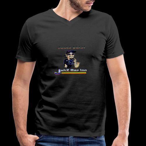 JULES BENJI - Men's Organic V-Neck T-Shirt by Stanley & Stella