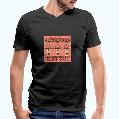 Tischfussball Freunde - Men's Organic V-Neck T-Shirt by Stanley & Stella