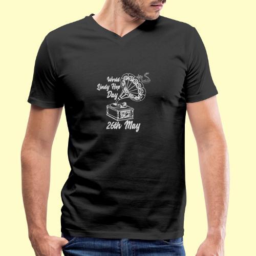 Lindy Hop Day Swing Dancing Vintage Geschenk - Männer Bio-T-Shirt mit V-Ausschnitt von Stanley & Stella