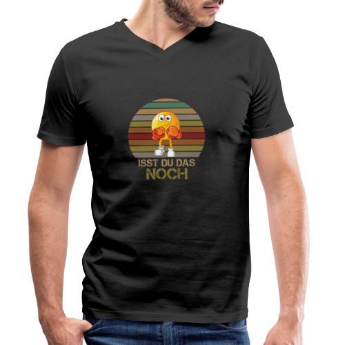 Ist du das noch Essen Humor Spaß - Männer Bio-T-Shirt mit V-Ausschnitt von Stanley & Stella