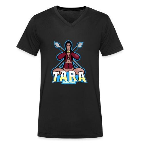 Tara Gaming - Camiseta ecológica hombre con cuello de pico de Stanley & Stella