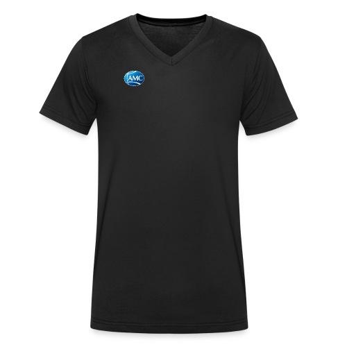 AMC Brand single - Männer Bio-T-Shirt mit V-Ausschnitt von Stanley & Stella