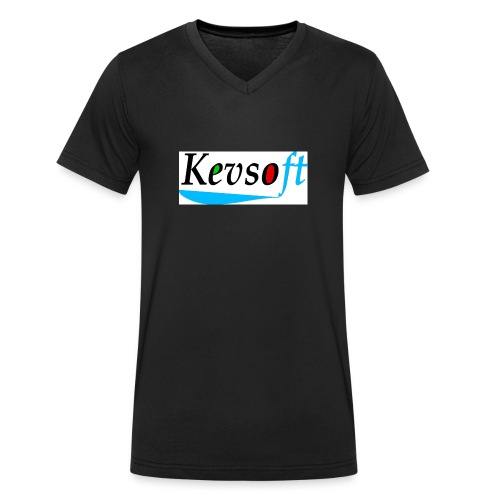 Kevsoft - Men's Organic V-Neck T-Shirt by Stanley & Stella