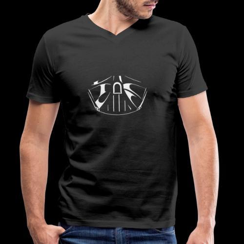 el lado oscuro de la fuerza - Camiseta ecológica hombre con cuello de pico de Stanley & Stella