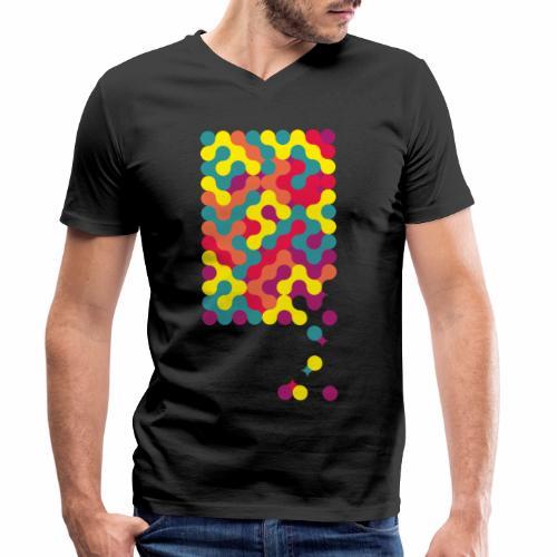Falling ap-art - Men's Organic V-Neck T-Shirt by Stanley & Stella