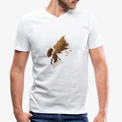 cyberpunk Angel - T-shirt bio col V Stanley & Stella Homme