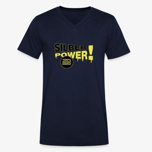 SilberPower! - Økologisk Stanley & Stella T-shirt med V-udskæring til herrer