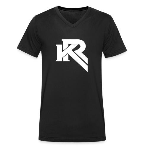KR - Camiseta ecológica hombre con cuello de pico de Stanley & Stella