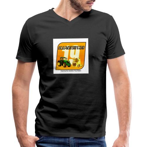 hjarne 123 danmarks bedeste youtuber - Økologisk Stanley & Stella T-shirt med V-udskæring til herrer