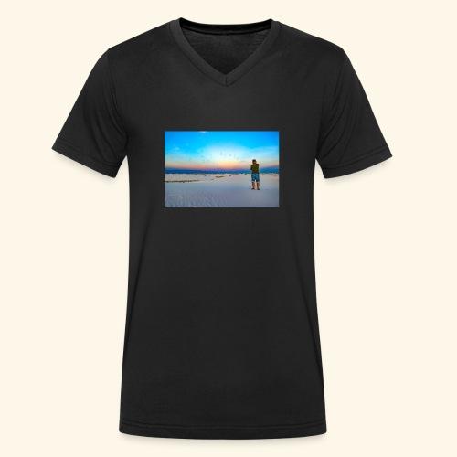 Belle image - T-shirt bio col V Stanley & Stella Homme