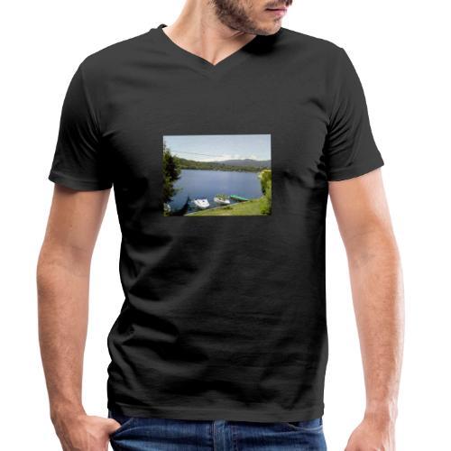 Lago - T-shirt ecologica da uomo con scollo a V di Stanley & Stella