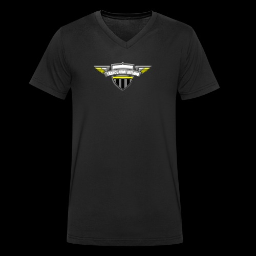 Trance Army Merchandise - Men's Organic V-Neck T-Shirt by Stanley & Stella