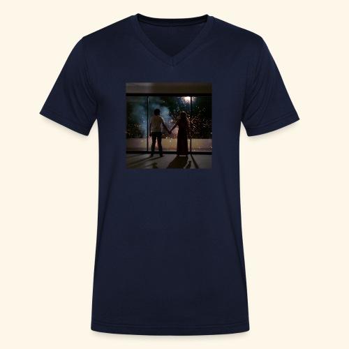 Mum look at me, I'm really okay. - T-shirt bio col V Stanley & Stella Homme