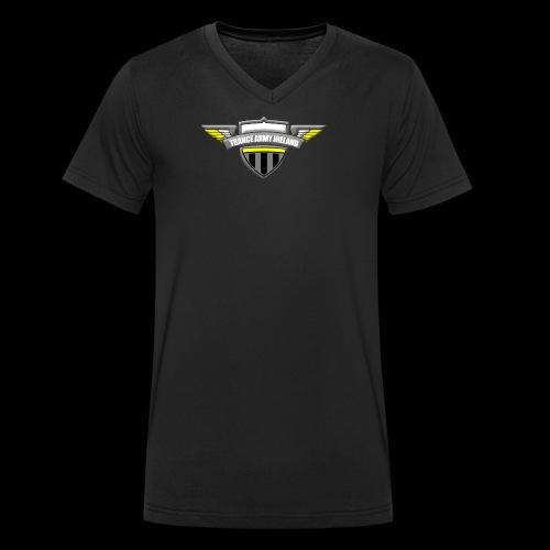 Trance Army Merchandise - Men's Organic V-Neck T-Shirt by Stanley & Stella