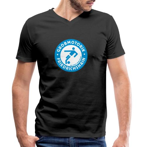 Gromotorik Friedrichshain - Männer Bio-T-Shirt mit V-Ausschnitt von Stanley & Stella