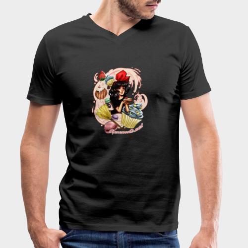 Geneworld - Kiki - T-shirt bio col V Stanley & Stella Homme