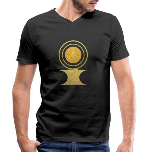 Native America Indianer Symbol Hopi ssl Sonne - Männer Bio-T-Shirt mit V-Ausschnitt von Stanley & Stella