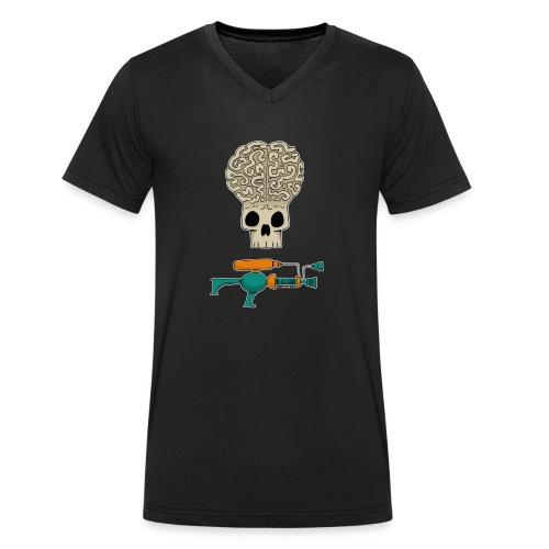 Extraterrestre - T-shirt bio col V Stanley & Stella Homme