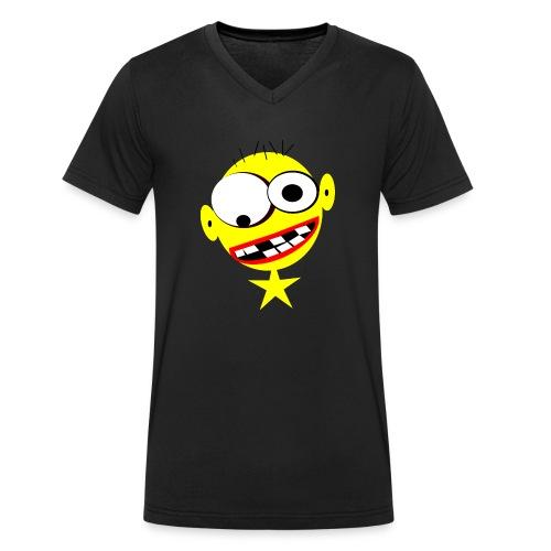 niko.png - Männer Bio-T-Shirt mit V-Ausschnitt von Stanley & Stella