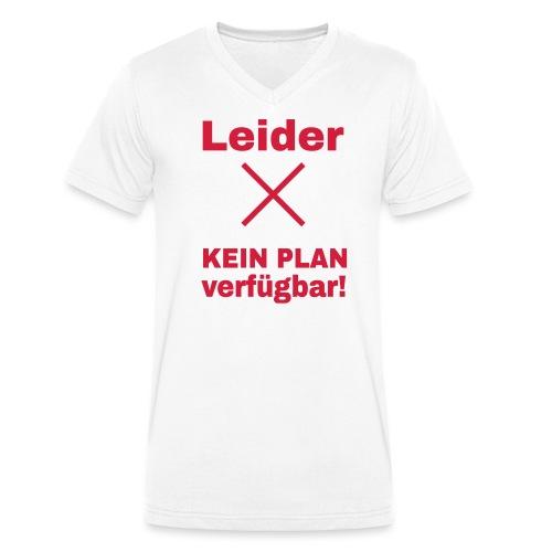 Wlan Nerd Sprüche Motiv - Männer Bio-T-Shirt mit V-Ausschnitt von Stanley & Stella