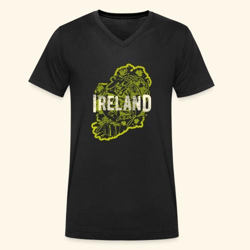 Ireland T Shirt Design - Männer Bio-T-Shirt mit V-Ausschnitt von Stanley & Stella