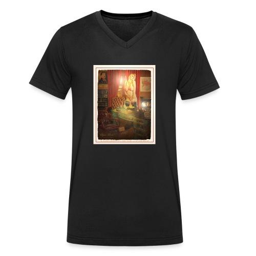 Casey Deluxe by INDEEDEE GRAPHICS - Männer Bio-T-Shirt mit V-Ausschnitt von Stanley & Stella